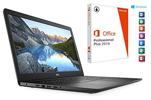Laptop INSPIRON 3782 - 16GB DDR4-RAM - 1000GB SSD - Windows 10 PRO + MS Office 2016 PRO - 44cm (17.3') MATT - CD/DVD Brenner