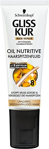 Gliss Kur Haarspitzenfluid Oil Nutritive, 5er Pack (5 x 50 ml)