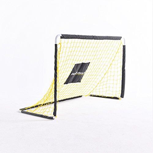 PodiuMax Faltbare Fußballtor, DIY Metallrohr mit stabilem Netz, Mini Fußballtor für Kinder, Perfekt für Indoor / Outdoor / Garten