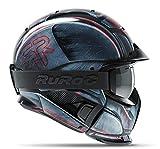 Ruroc RG1-DX Ski Snowboard Helm (M/L (57-60cm), Machine)