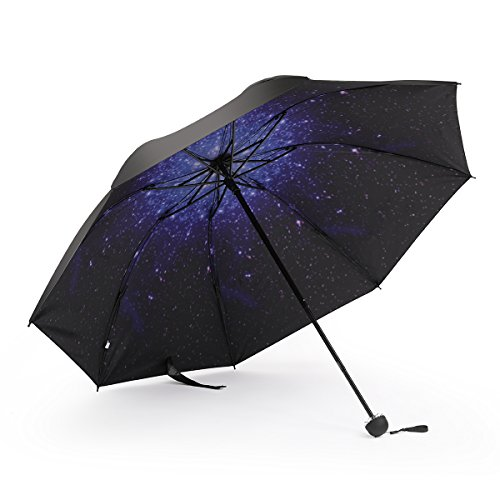 Blauer Charme Regenschirm, UV-Schutz, Outdoor