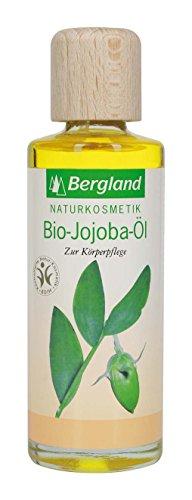 Bergland Bio-Jojoba-Öl, 1er Pack (1 x 125 ml)