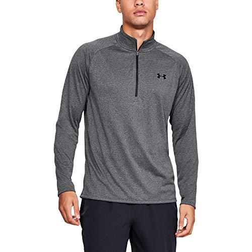 Under Armour Herren UA Tech 2.0 langärmliges Sportshirt mit Half Zip, sportliches Longsleeve, schnell trocknendes Langarmshirt für Männer