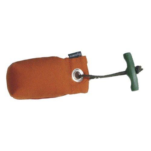 Romneys Suchendummy/Pocketdummy mit Wurfgriff 100g, orange - Apportiertraining/Apport für die Hundeausbildung