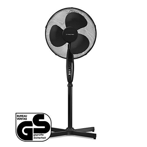 TROTEC TVE 18 S Standventilator | 3 Geschwindigkeitsstufen | 90°-Oszillation | Ventilatorflügeldurchmesser 40cm