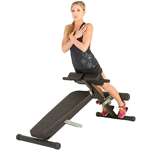FITNESS REALITY X-Class Light Commercial Multi-Workout Hyperextension Bauch- und Rückentrainer