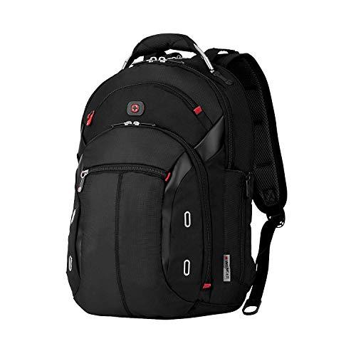 Wenger 600627 GIGABYTE 15' MacBook Pro Rucksack, Anti-Scratch Futter mit iPad/Tablet / eReader Tasche in schwarz {17 Liter}