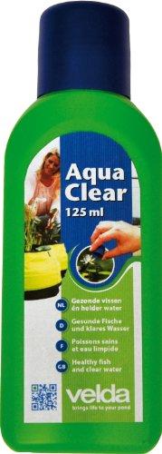 Velda 120187 Wasseraufbereiter für Mini-Teiche und Wasserornamente, Für ca. 180 l Wasser, AquaClear, 125 ml