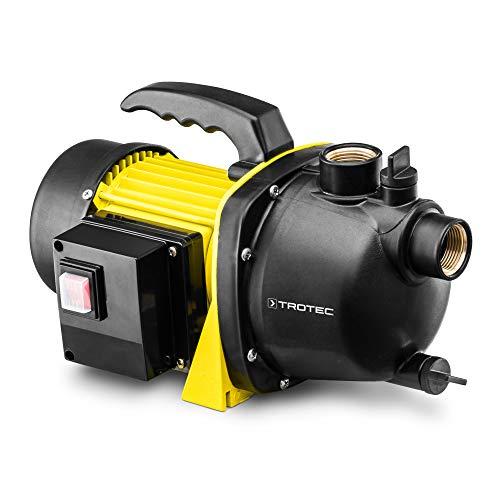 TROTEC Gartenpumpe TGP 1000 E 1.000 Watt Leistung Förderleistung 3.300 l/h