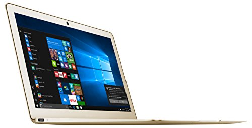 Odys Winbook 13 33,78 cm (13,3 Zoll) Ultrabook / Notebook (Intel Celeron Quad Core Prozessor N3450, 64GB Festplatte, 4GB RAM, Intel HD Graphics 500, Win 10 Home) champagne / gold