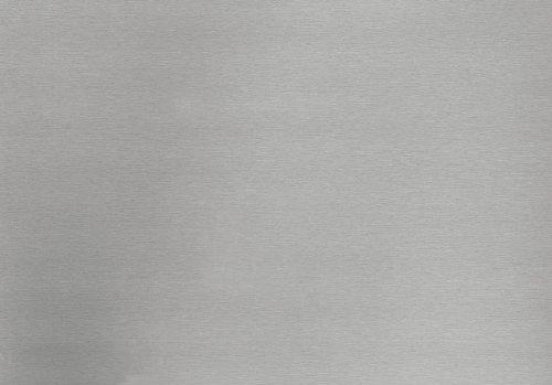 d-c-fix Folie Klebefolie Selbstklebefolie Möbelfolie Dekorfolie F340-8045 Metallic 'Brush, silber' 150 x 67,5cm