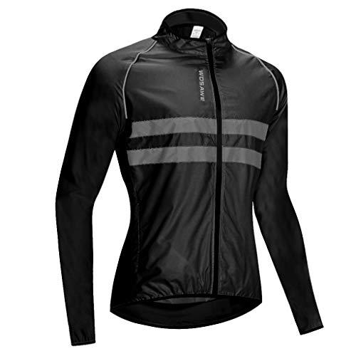B Baosity Winter Fahrradtrikot Langarm Radtrikot Fahrradshirt Radshirt Rennrad Hemd Fahrrad Fahrradbekleidung Jersey für Männer Frauen - XXXL
