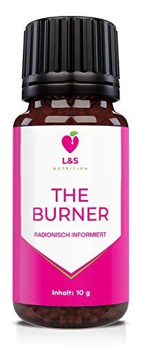 The Burner Globuli | radionisch informiert | Abnehmen leicht gemacht | Fatburner | 10g | (KEIN HCG C30!)