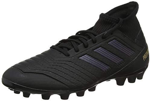 adidas Herren Predator 19.3 AG Fußballschuhe, Schwarz Core Black/Gold Metallic 0, 45 1/3 EU