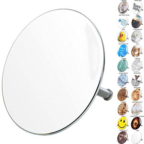 Badewannenstöpsel, viele schöne Badewannenstöpsel zur Auswahl, hochwertige Qualität  (Weiß)