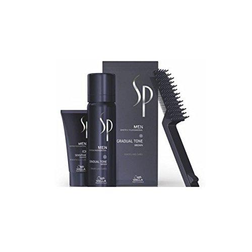 Wella SP Men Gradual Tone Brown 60 ml + Shampoo, 30 ml