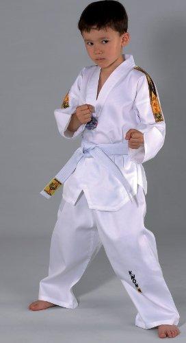 KWON Taekwondo Anzug mit Gürtel 551005 Tiger TKD Kinder Kids Junior