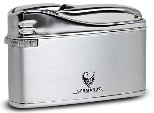GERMANUS Feuerzeug Flosse, Silber