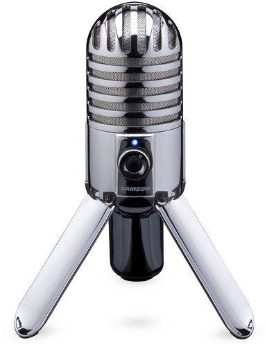 Samson Meteor Mic USB Studio/Podcast Mikrofon silber