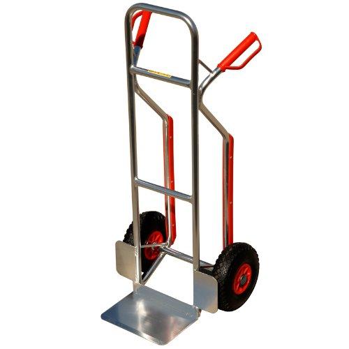 Aluminium Stapelkarre mit Treppenrutsche 150 KG
