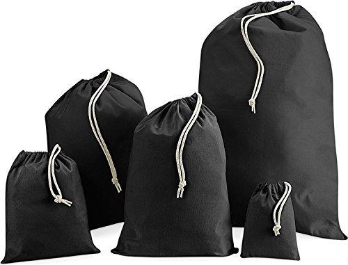 Cotton Stuff Bag | Stoffsack aus Baumwolle Farbe schwarz Größe XL