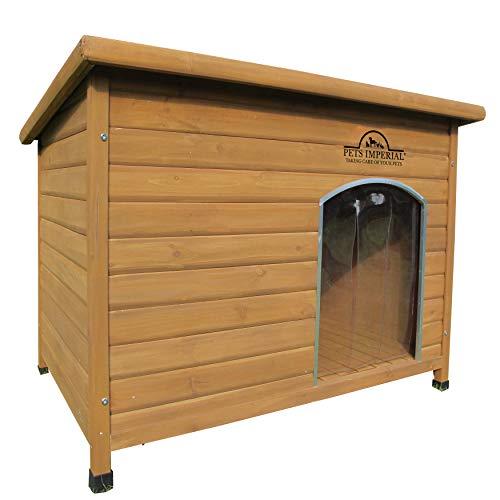 Pets Imperial Haustiere Imperial Extra Large Isoliert Holz Norfolk Hundehütte Mit Abnehmbarem Boden Für Einfache Reinigung