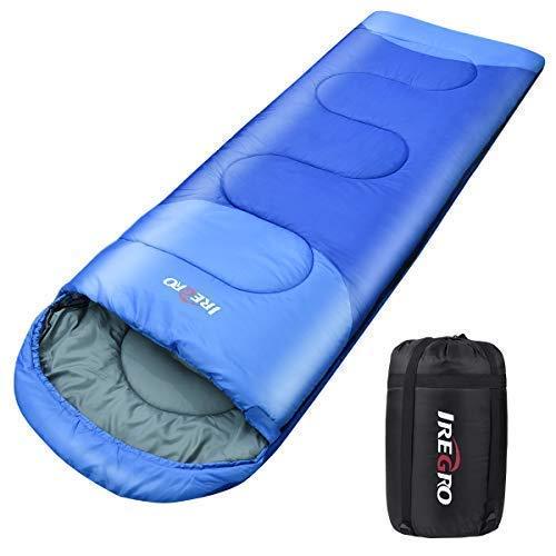 Sotical Schlafsack, Deckenschlafsack 1.8 kg Super Dick Warm Outdoor 100% Baumwollhohlfaser für Camping,Wandern,sonstige Aktivitäten im Freien im 3-Jahreszeiten leicht in Tragetasche,Weich 220 x 80cm