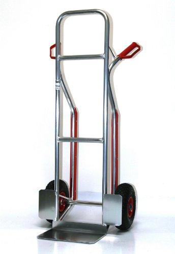 Sackkarre ALU Gleitkufen 200 kg 117x46x54 (Transportkarre Stapelkarre Handkarre)