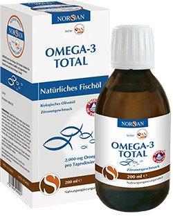 Norsan Omega-3 Total Fischöl mit Zitrone flüssig 200ml