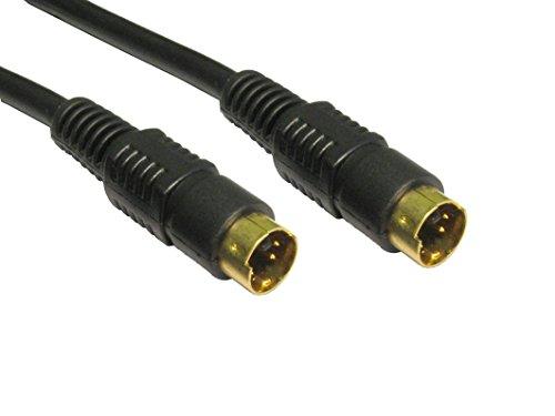 10m SVHS Kabel - Premium-Qualität / 24k vergoldet / s-video / 4-polig / Stecker-Stecker / tv-out / Grafik