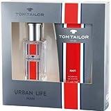 Tom Tailor Urban Life Gift Set - 30ml EdT 150ml Showergel - Das beste Geschenk für ihn - ideal für Weihnachten