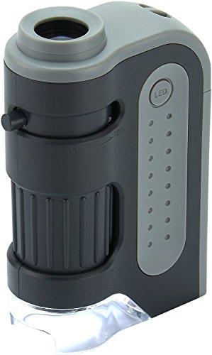 Carson MM-300 MicroBrite Plus 60x - 120x LED beleuchtetes Taschen Mikroskop