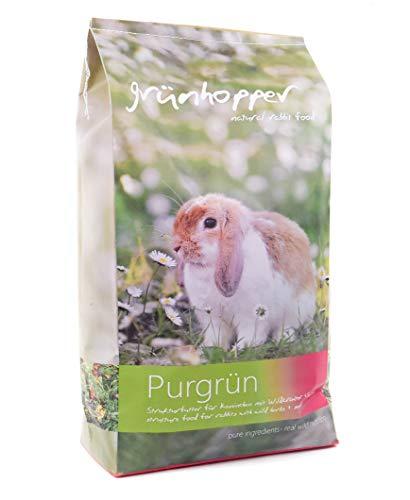 grünhopper Purgrün 3kg Kaninchenfutter