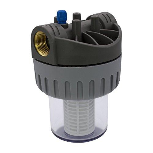 VARIOSAN Vorfilter für Pumpen 12562, 1' IG, 8 bar Betriebsdruck, 6000 l/h Durchflussmenge, 0,06 mm Maschenweite