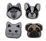 ocona Handwärmer Taschenwärmer Handtaschenwärmer Wärmeknickkissen Heizpad wiederverwendbar Hund & Katze 4er Set