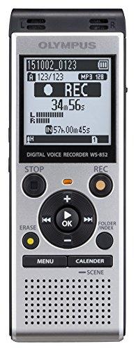 Olympus WS-852 Diktiergerät 4 GB Speicher, USB-Anschluss inklusive Batterien