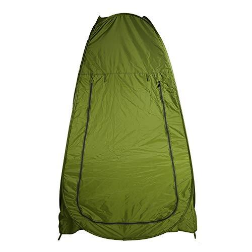 EBTOOLS Tragbare Umkleidezelt Wasserdicht Pop up Toilettenzelt Camping Duschzelt Lagerzelt mit Tragetasche Privatsphäre Zelt für Outdoor-Camping, 1,2 * 1,2 * 1,9 m