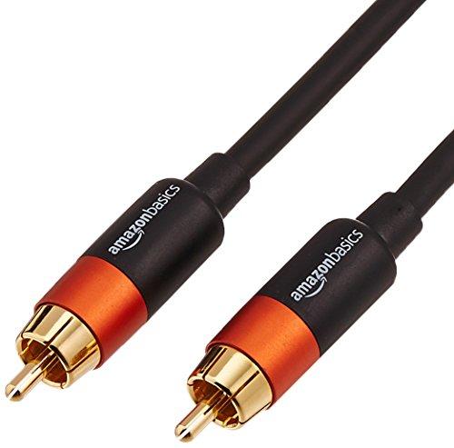 AmazonBasics - Digitales Audiokabel / Koaxialkabel, 1,2 m