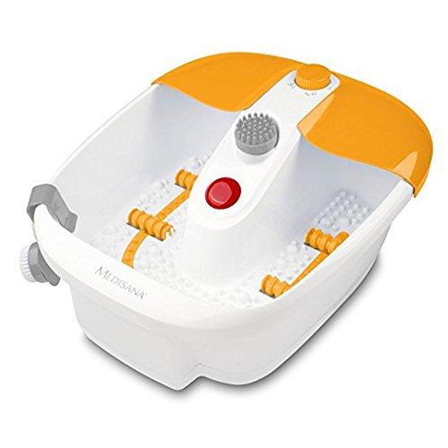 Medisana 88387 FS 883 Fußsprudelbad, Wärmefunktion, Sprudel- und Vibrationsmassage (geeignet bis Schuhgröße 46)