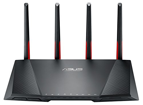 Asus DSL-AC68VG AC2300 VOIP Modem Router (Basis, externer Antenne, Anrufbeantworter, AiProtection by Trendmircro, 1 GHz Dual-Core CPU, ac-WLAN, Gigabit LAN, USB 3.0)