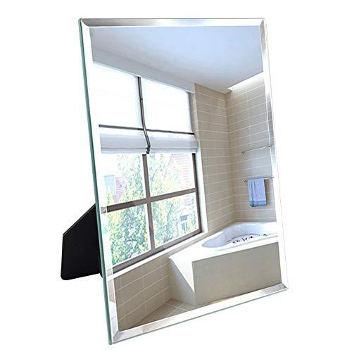 Umi. Essentials 27x33cm Spiegel mit polierten Sicherheitskanten für Wandaufhängung oder Tischaufstellung