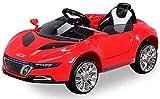 Actionbikes Motors Kinder Elektroauto Super Sport - Ledersitz - Mp3 - USB - SD - 2,4 Ghz Rc Fernbedienung mit Not Stop - Softstart - Elektro Auto für Kinder ab 3 Jahre (Super Sport Weiß)