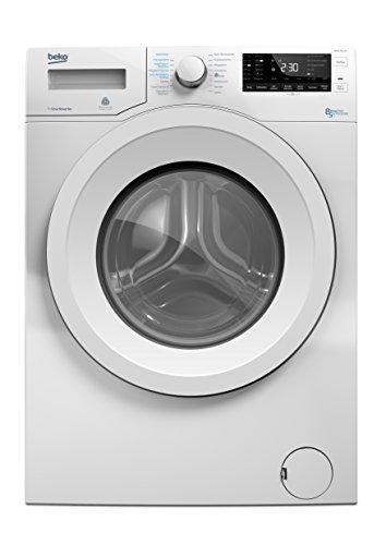 Beko WDW 85140 Waschtrockner / 1088 kWh / 8 kg Waschen / 5 kg Trocknen / weiß / Aquawave-Schontrommel / Mengenautomatik / Watersafe