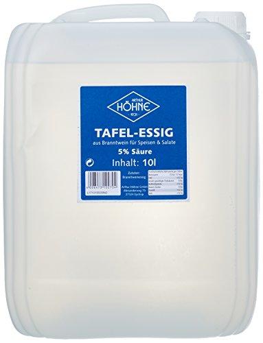 Höhne Tafelessig, 5 % Säure, 1er Pack (1 x 10 l Kanister)