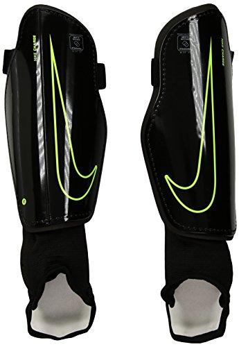 Nike CHARGE 2.0Knöchelbandage Unisex, Mehrfarbig (BLACK/BLACK/(VOLT)), Gr. L