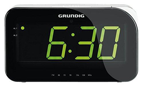 Grundig Sonoclock 490 Uhrenradio (LED-Display) schwarz/silber