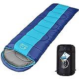 LATTCURE -9°C Outdoor Schlafsack Deckenschlafsack für Camping im Winter, Weich, Dick und Warm (Grün)