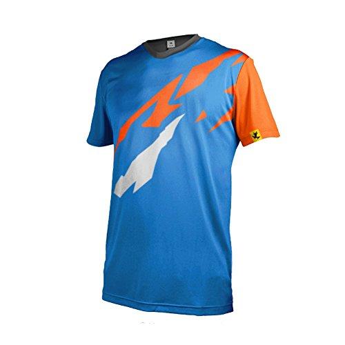 Uglyfrog Bike Wear Atmungsaktiv Trendy Herren Downhill/MTB Jersey Mountain Bike Fahrradtrikot Kurzarm Freeride BMX Top Regular Fit T-Shirt Basic T-Shirt