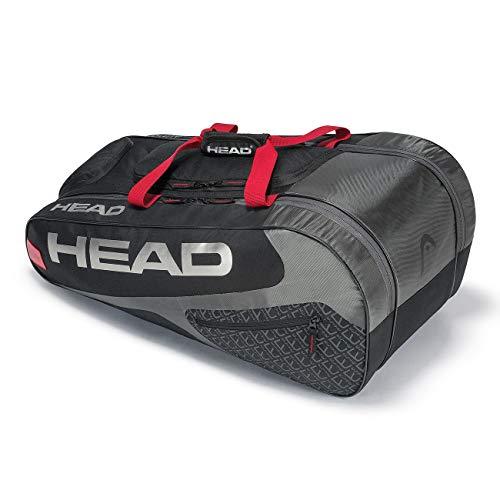 HEAD Unisex- Erwachsene Elite Allcourt Tennistasche, Black/red, Andere