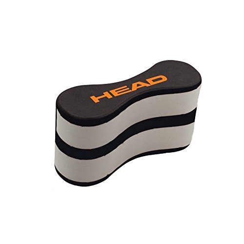Head Pull Buoy für das Schwimmtraining (schwarz)